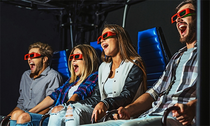 5D Theatre Ride for up to Six at Amusement Warehouse