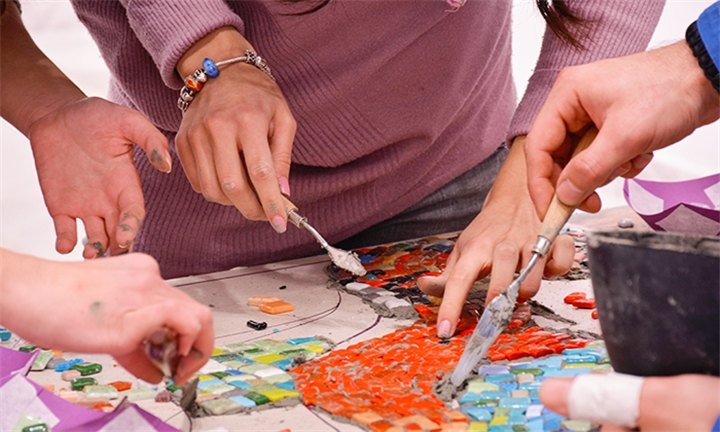 Mosaic Workshop for up to Four at Organic Mosaics