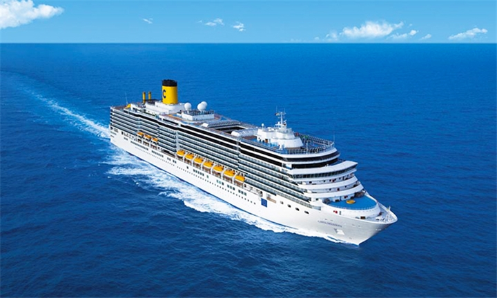 Luxury Cruises: 7-Night Florida (USA), Bahamas, Turks Islands Cruise for Two Aboard the Costa Deliziosa
