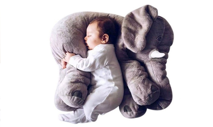 Stuffed Elephant Plush Pillow for R299