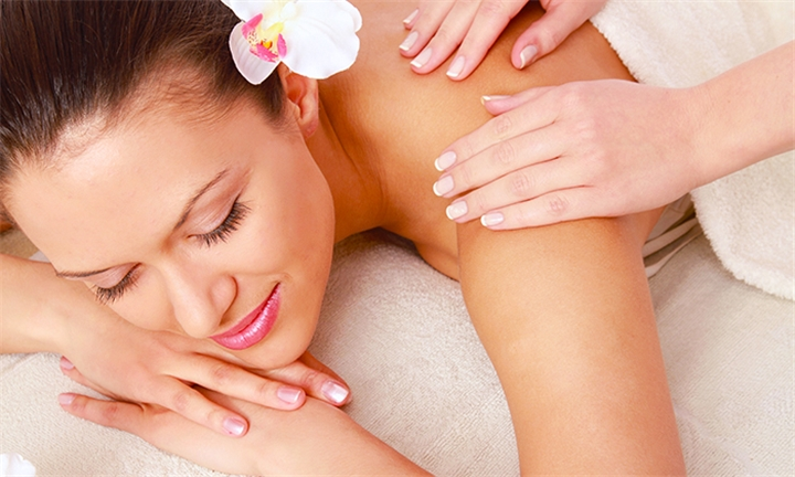 45-Min Back, Neck and Shoulder Massage for One or Two at Touch & Glow Nail & Beauty Spa