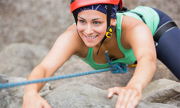 Rock Climbing for up to Six Including Refreshments with Adventure Sports & Tours 4U