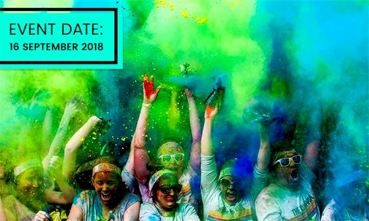 Ticket for the Color Run Johannesburg – 16 September 2018