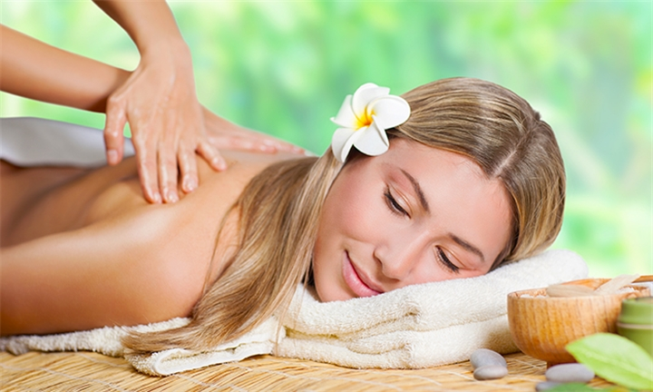 Swedish Full Body Massage with Spa Paraffin Pedicure for One or Two at D'Essential Beauty Spa