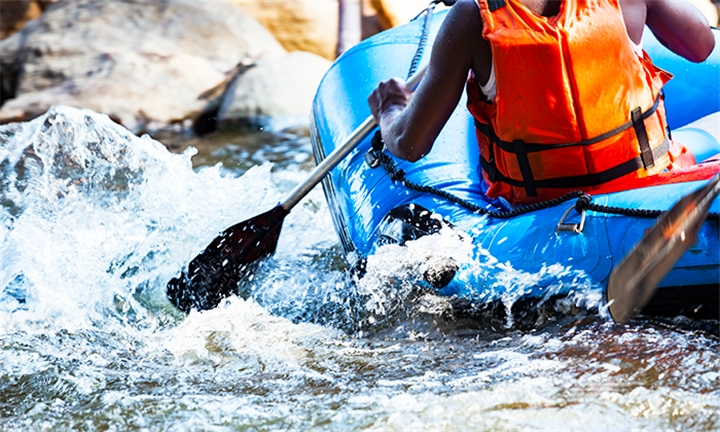 River Rafting Experience for One or Two with Impact Adventure Africa