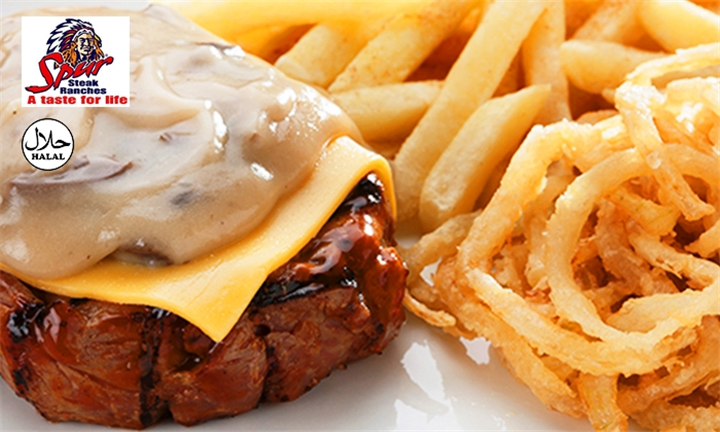 3-Course Meal for Two at Rodeo Spur Steak Ranch