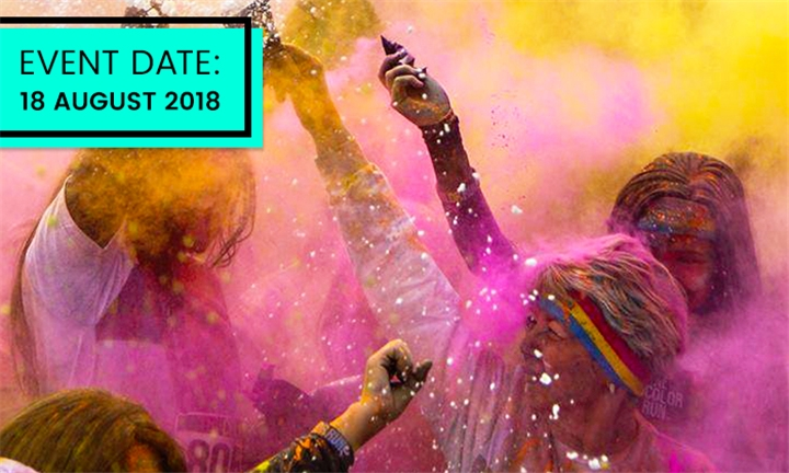 Ticket for the Color Run Polokwane – 18 August 2018