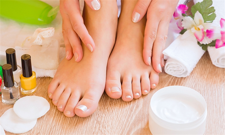 Choice of Manicure and/or Pedicure with Gel Polish Overlay or Cutex at Rejuvenations Health and Beauty Salon