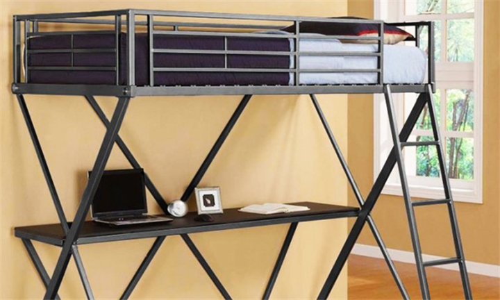 Cosmo Study Bunk Bed with Ladder for R3299 Incl Delivery