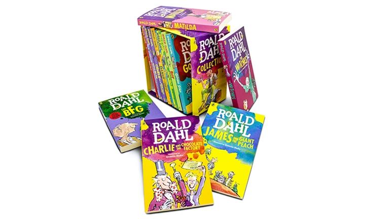 Roald Dahl 15 Book Slipcase for R599