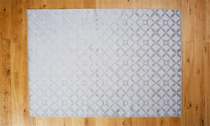 HAUS by Hertex Lattice Rug - 160 x 230cm (Glacier) for R1599