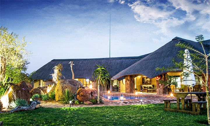 North West: 2-Night Stay for Two Including Meals, Welcome Drinks, Romantic Turndown and Bush Tour at Thaba Khaya Lodge