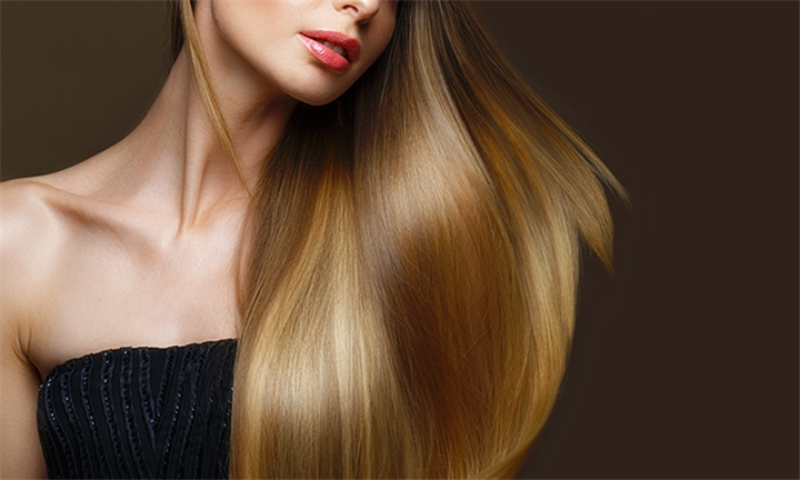 Chromaplex Hair Treatment, Blow-Dry with Optional Cut & Flat Iron or Full Head of Colour at Lindsay Michael Hair Co.