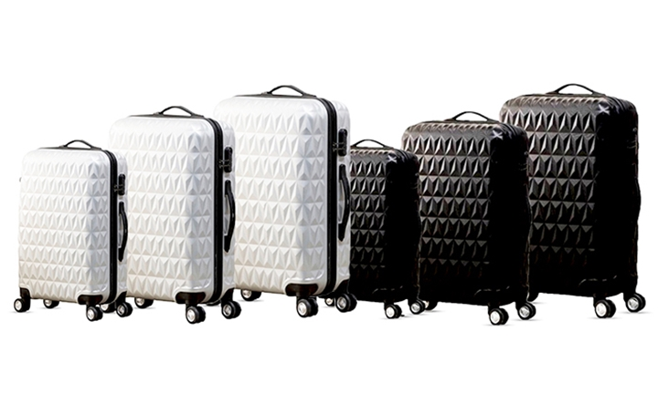 3-Piece Diamond Luggage Sets for R1399