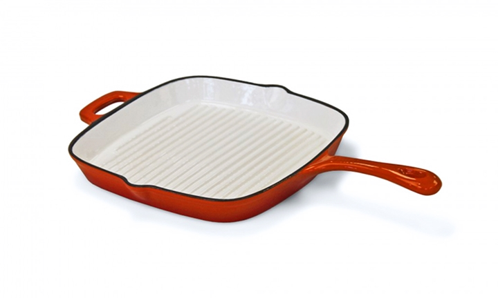 Cast Iron Square Skillet Pan for R199
