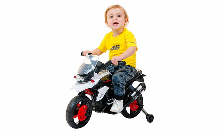 6V Ride-On Electric Motorbike with Training Wheels for R1199