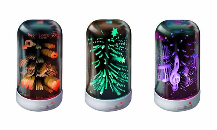 Crystal Aire Lumi 3D Essential Oil Aroma Diffuser for R579
