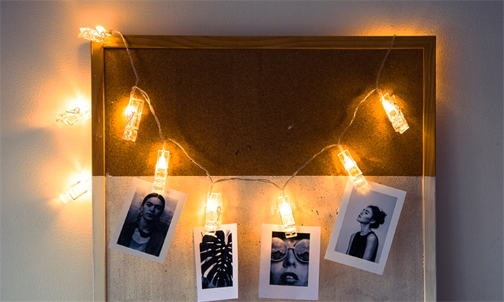 10 or 20 Decorative LED Peg String Lights from R99