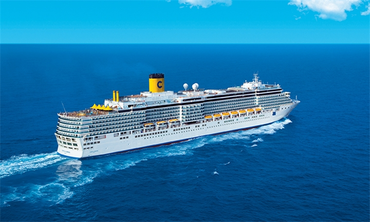 7-Night Italy, Greece, Montenegro and Croatia Cruise for Two Including Meals and Entertainment aboard the Costa Luminosa