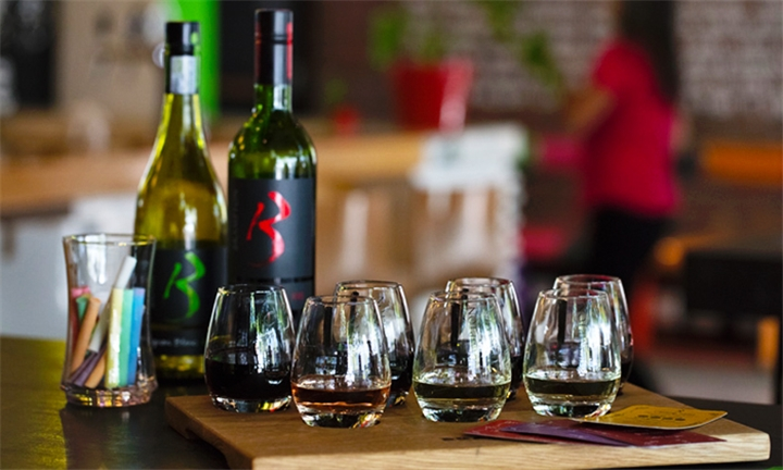 Wine Tasting for Two Including Choice of Flatbread to Share at Brampton Wine Studio