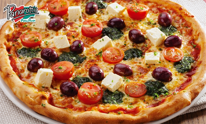 Classic Pizzas and Sodas for up to Four at Panarottis Vangate Mall (Halaal)