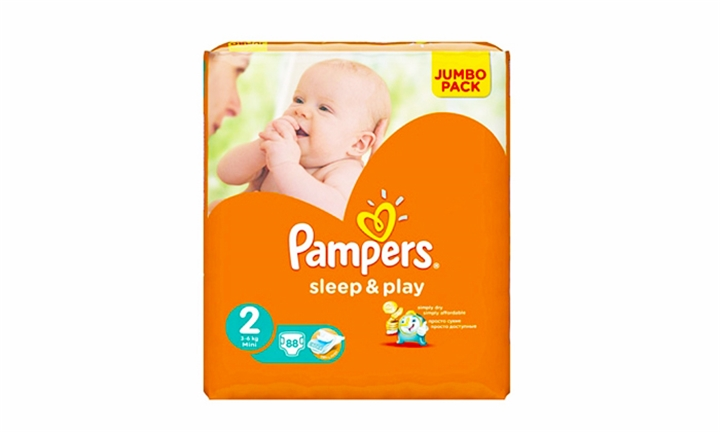 In-store voucher for Pampers Sleep and Play Size 2 or 5 at Discount Cash and Carry