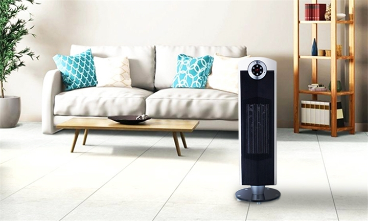 Taurus Ceramic Heater with Remote Control (Black) for R1799