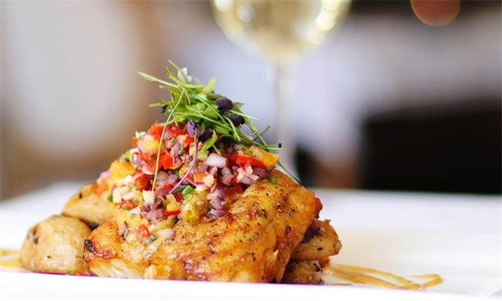 5-Course Dining Experience with Wine Pairing for Two at Harveys Restaurant, Bar & Lounge