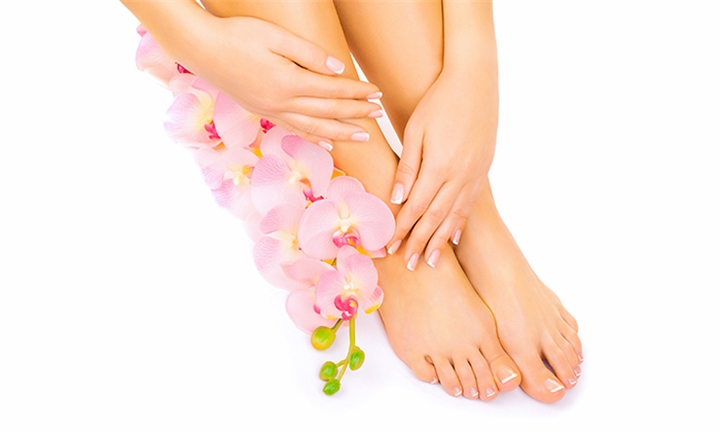Classic Manicure and/or Pedicure at Embellish SA Hair And Beauty Salon