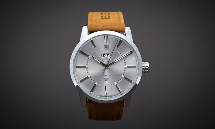 Matt Arend Silver Dandy Daydate Watch for R1099