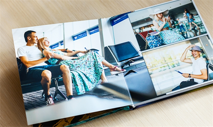 4 or 6 x Personalised 22-Page A4 Hardcover Photobooks Including Delivery from Photobook-Factory
