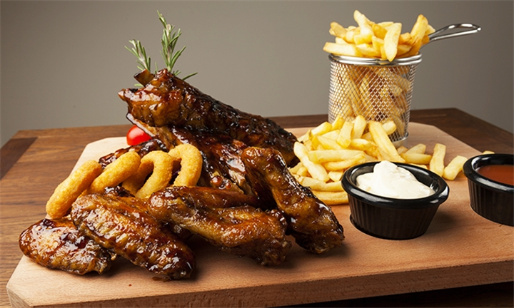 Choice of Combo Meal for Two at Anelisa Cafe