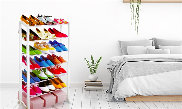 7 Tier Shoe Rack for R149