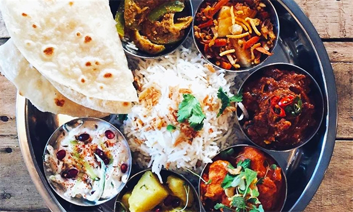 2-Course Gourmet Indian Taste Board Experience for up to Four at Curry & Craft