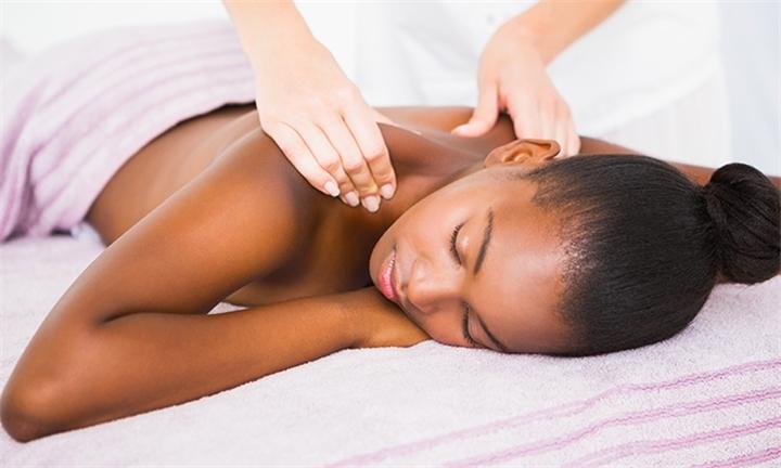 Neck, Back & Shoulder Massage With Optional Back Cleanse