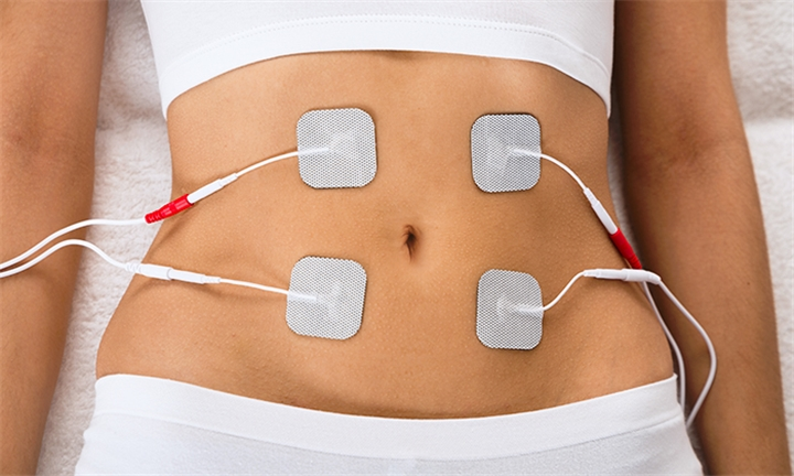 Slimming Package: Lymphatic Drainage and EMS Sessions with Chili Wraps on a Chosen Area at Double Infinity