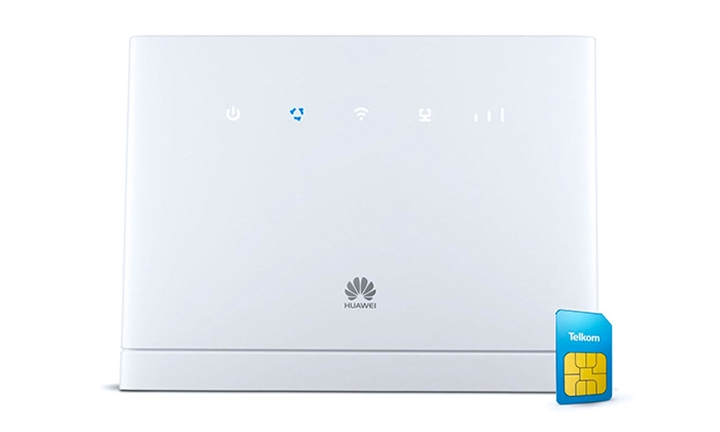 Huawei B315 LTE WiFi Router with 25GB/50GB/100GB Bundle from R1499