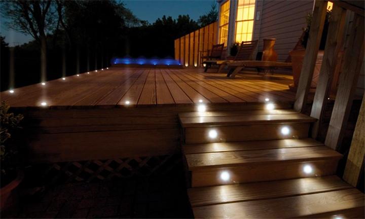 Solar LED Decking Lights for R199