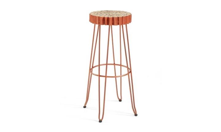 Evento Barstool Copper for R2499