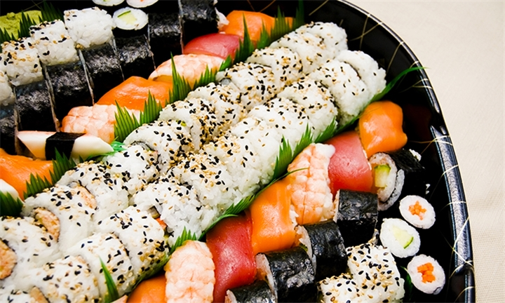 28 or 56-Piece Sushi Platter for up to Four at Kobe Sushi Bar – Plumstead
