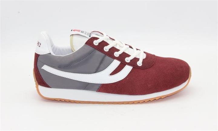 Olympic Austin Mens Burgundy/Grey Retro Sneaker for R499