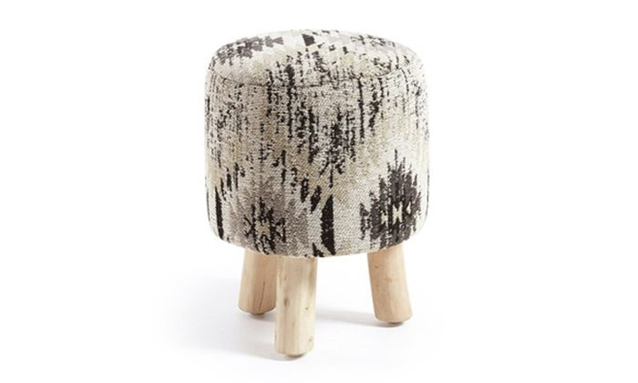 Bel Stool Cotton Grey for R999