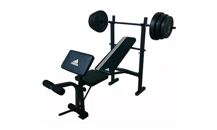 Adidas Essential Bench with 45Kg Weight for R2699