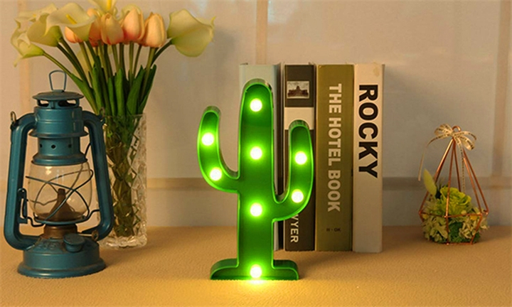 Cactus Night Light for R129
