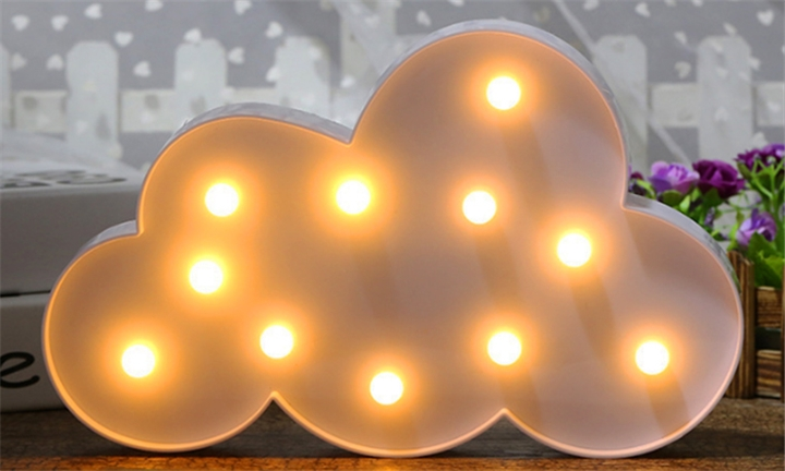 Cloud Night Light for R129