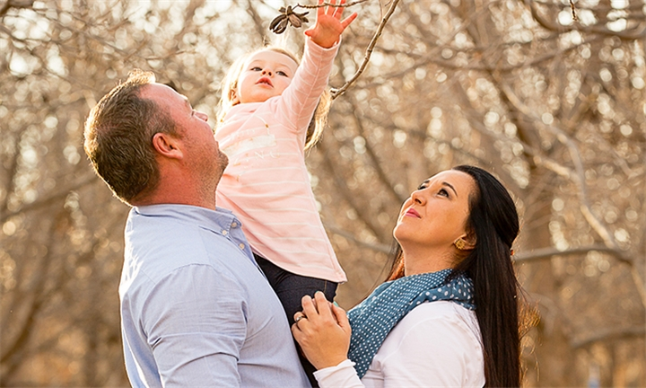 2-Hour Location Photoshoot for up to Five Including Printed Images with Betty Roux Photography