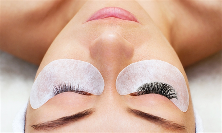 Full Eyelash Extensions Including Two-Week Fill at Crème Beauty Lounge