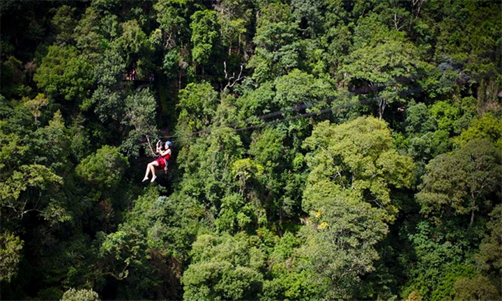 Zip-line Tour Experience for One or Two with Drakensberg Canopy Tour
