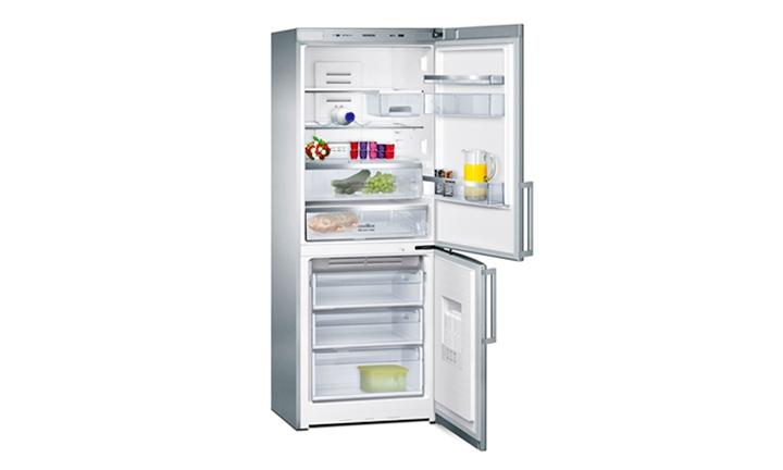 Siemens iQ500 Combi Fridge freezer (385L) (Silver) forR13999