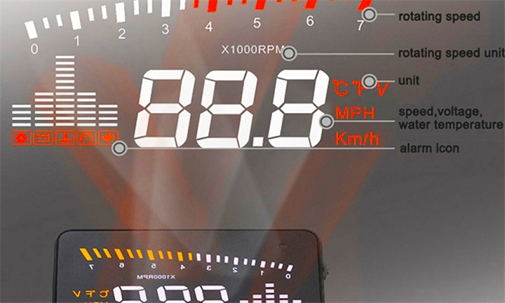 Heads Up Car Display for R699